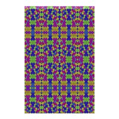 Ethnic Modern Geometric Pattern Shower Curtain 48  X 72  (small)  by dflcprints