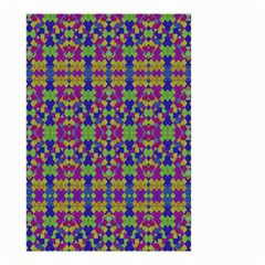 Ethnic Modern Geometric Pattern Small Garden Flag (two Sides) by dflcprints