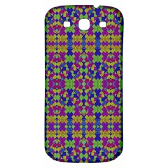 Ethnic Modern Geometric Pattern Samsung Galaxy S3 S Iii Classic Hardshell Back Case by dflcprints
