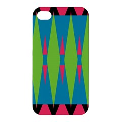 Connected Rhombus Apple Iphone 4/4s Hardshell Case by LalyLauraFLM