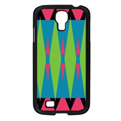 Connected Rhombus			samsung Galaxy S4 I9500/ I9505 Case (black) by LalyLauraFLM