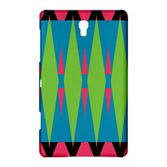 Connected Rhombus			samsung Galaxy Tab S (8 4 ) Hardshell Case by LalyLauraFLM