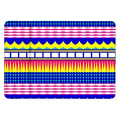 Rectangles Waves And Circles			samsung Galaxy Tab 8 9  P7300 Flip Case by LalyLauraFLM