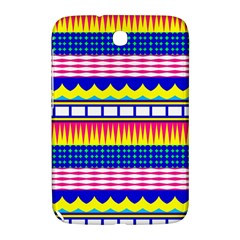 Rectangles Waves And Circlessamsung Galaxy Note 8 0 N5100 Hardshell Case by LalyLauraFLM