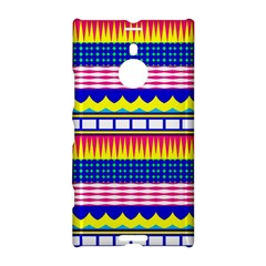 Rectangles Waves And Circles			nokia Lumia 1520 Hardshell Case by LalyLauraFLM