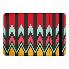 Waves and other shapes pattern			Samsung Galaxy Tab Pro 10.1  Flip Case by LalyLauraFLM