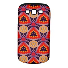 Triangles Honeycombs And Other Shapes Pattern			samsung Galaxy S Iii Classic Hardshell Case (pc+silicone) by LalyLauraFLM