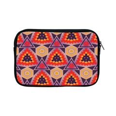 Triangles Honeycombs And Other Shapes Patternapple Ipad Mini Zipper Case by LalyLauraFLM