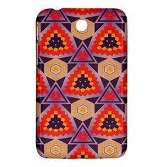 Triangles Honeycombs And Other Shapes Pattern			samsung Galaxy Tab 3 (7 ) P3200 Hardshell Case by LalyLauraFLM