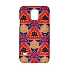 Triangles Honeycombs And Other Shapes Pattern			samsung Galaxy S5 Hardshell Case by LalyLauraFLM