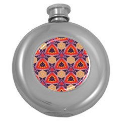 Triangles Honeycombs And Other Shapes Patternhip Flask (5 Oz) by LalyLauraFLM