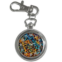 Colorful Seashell Beach Sand, Key Chain Watches by Costasonlineshop