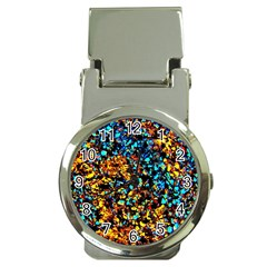 Colorful Seashell Beach Sand, Money Clip Watches by Costasonlineshop
