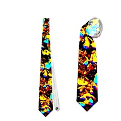 Colorful Seashell Beach Sand, Neckties (two Side)  by Costasonlineshop