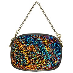 Colorful Seashell Beach Sand, Chain Purses (one Side)  by Costasonlineshop