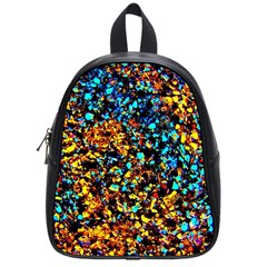Colorful Seashell Beach Sand, School Bags (small)
