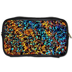 Colorful Seashell Beach Sand, Toiletries Bags 2 Side