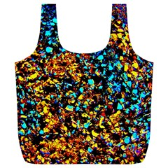 Colorful Seashell Beach Sand, Full Print Recycle Bags (l)