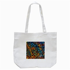 Colorful Seashell Beach Sand, Tote Bag (white)