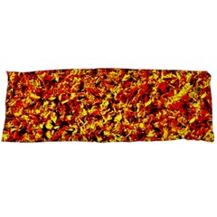 Orange Yellow  Saw Chips Body Pillow Cases Dakimakura (two Sides)  by Costasonlineshop