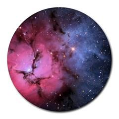 Trifid Nebula Round Mousepads