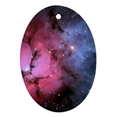Trifid Nebula Ornament (oval)