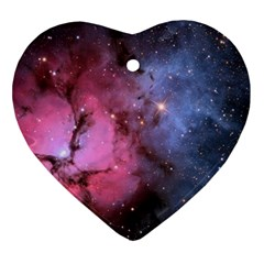 Trifid Nebula Ornament (heart)