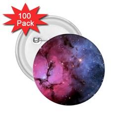 Trifid Nebula 2 25  Buttons (100 Pack)