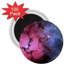 Trifid Nebula 2 25  Magnets (100 Pack)