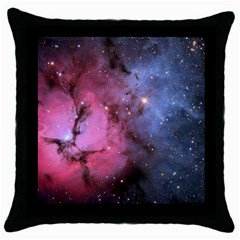 Trifid Nebula Throw Pillow Cases (black) by trendistuff