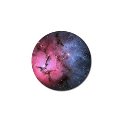 Trifid Nebula Golf Ball Marker