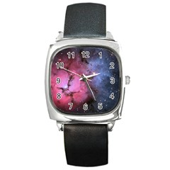 Trifid Nebula Square Metal Watches