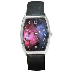 Trifid Nebula Barrel Metal Watches