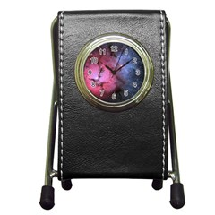 Trifid Nebula Pen Holder Desk Clocks