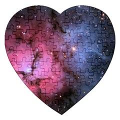 Trifid Nebula Jigsaw Puzzle (heart)