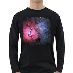 Trifid Nebula Long Sleeve Dark T Shirts