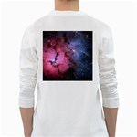 TRIFID NEBULA White Long Sleeve T-Shirts Back