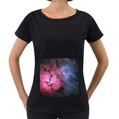 Trifid Nebula Women s Loose Fit T Shirt (black)