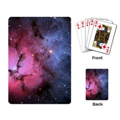 Trifid Nebula Playing Card by trendistuff