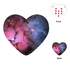 Trifid Nebula Playing Cards (heart)