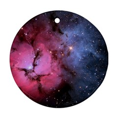 Trifid Nebula Round Ornament (two Sides)