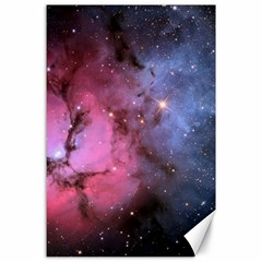 Trifid Nebula Canvas 24  X 36