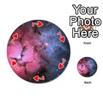 TRIFID NEBULA Playing Cards 54 (Round)  Front - Heart7
