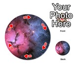 TRIFID NEBULA Playing Cards 54 (Round)  Front - Heart8