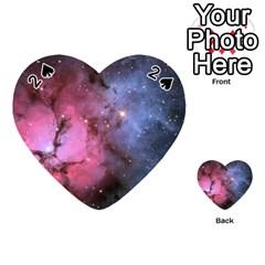 Trifid Nebula Playing Cards 54 (heart)