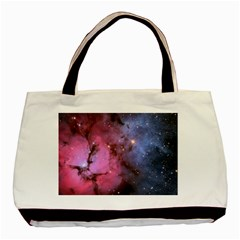 Trifid Nebula Basic Tote Bag (two Sides)  by trendistuff