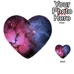 Trifid Nebula Multi Purpose Cards (heart)