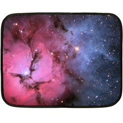 Trifid Nebula Fleece Blanket (mini)