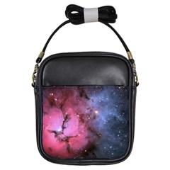 Trifid Nebula Girls Sling Bags