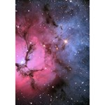 TRIFID NEBULA Peace Sign 3D Greeting Card (7x5)  Inside